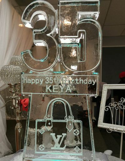 Ice Sculptures For Events 096 35th Birthday