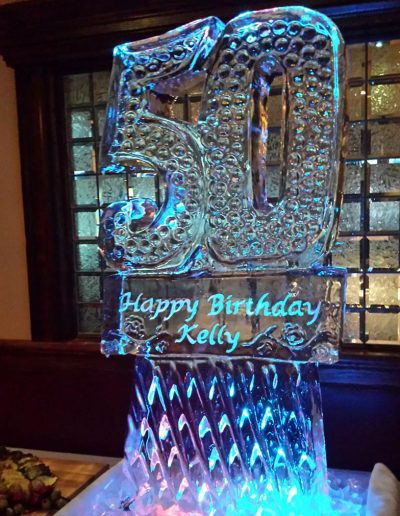 Ice Sculptures For Events 101 50th Birthday