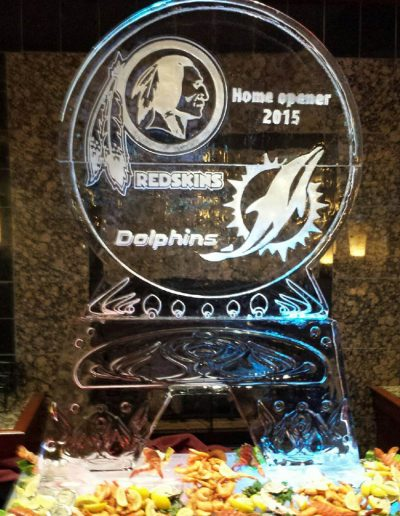 Ice Sculptures For Events 104 Redskins Vs Dolphins