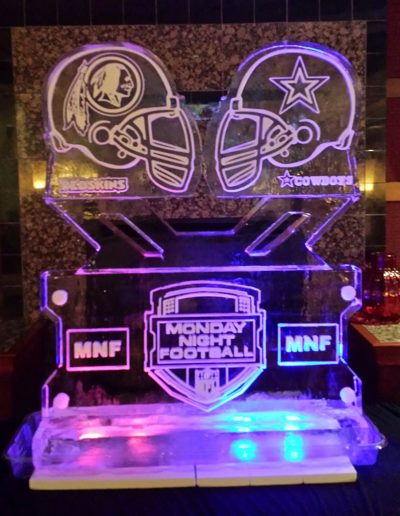 Ice Sculptures For Events 109 Monday Night Football