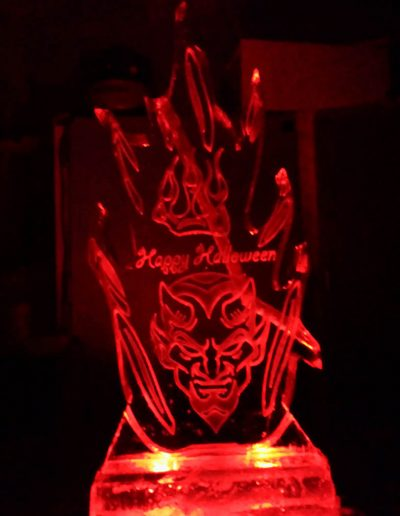 Ice Sculptures For Events 110 Flame luge