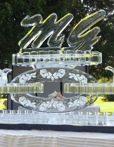 Wedding Ice Sculptures 017 Beverage Bar