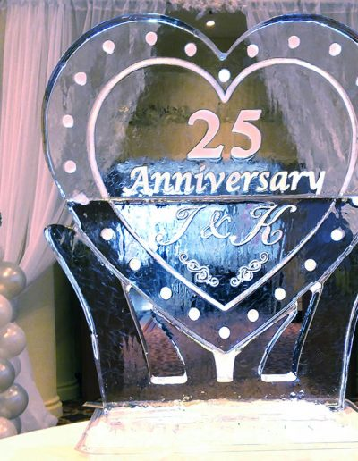 Wedding Ice Sculptures 018 Anniversary